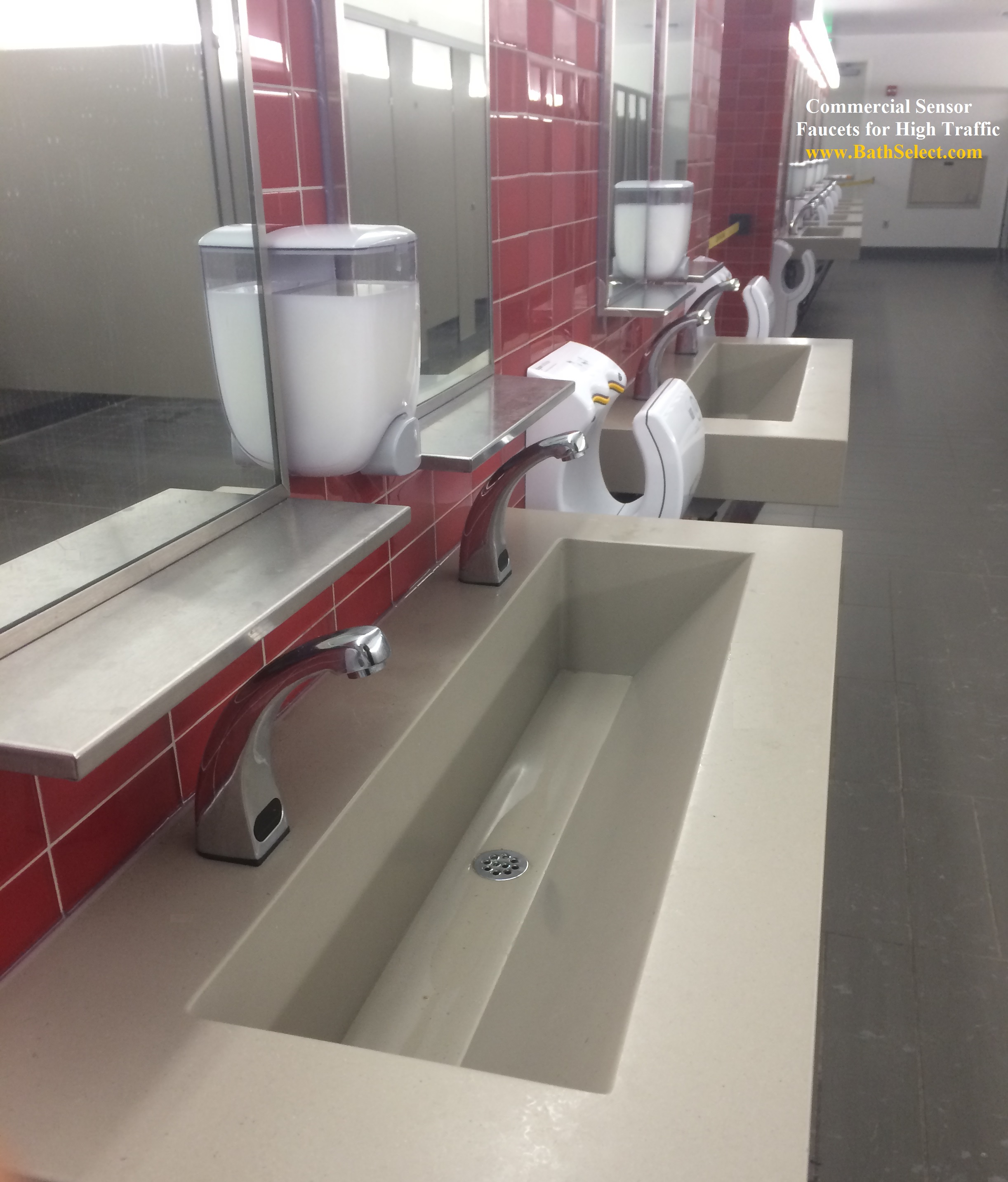 Specifications-Hands-Free-Sensor-Faucets-Public-Restrooms