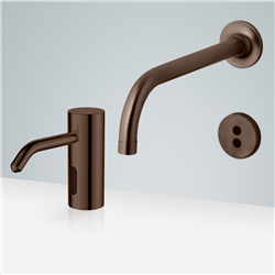 Bronze Automatic Hands Free Soap Dispenser