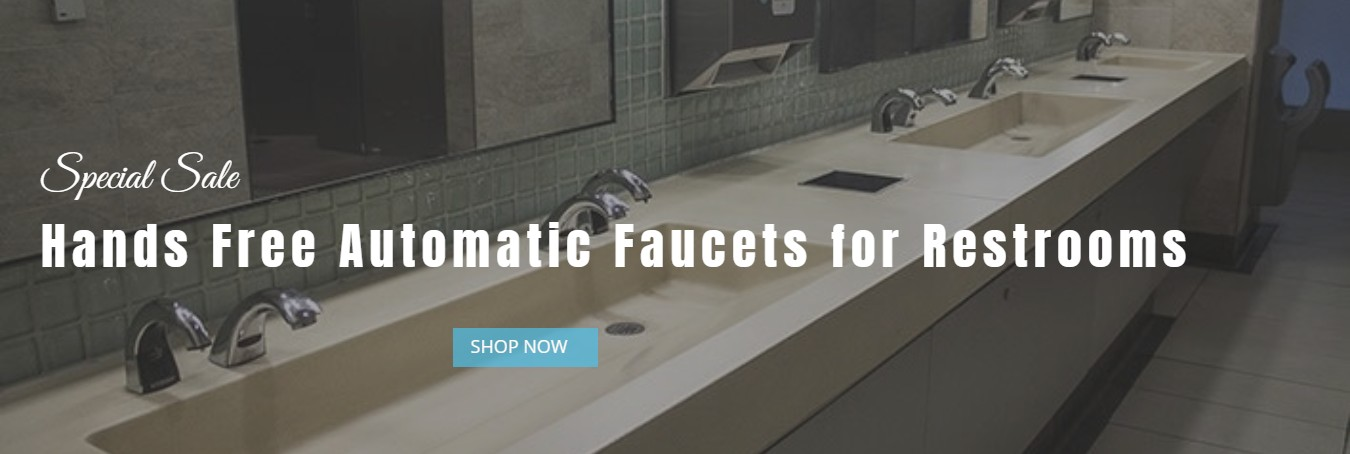 Hands Free Automatic Faucets for Restrooms