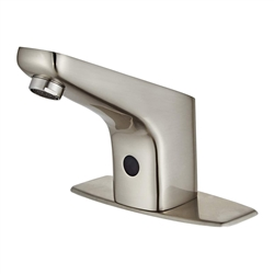 High Quality Touchless Automatic Sensor Brushed Nickel Sink Faucet
